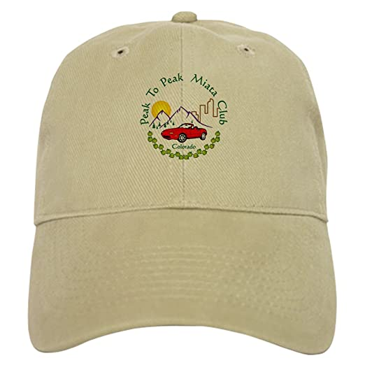 f01b699ba Amazon.com: CafePress Full Peak to Peak Miata Club Baseball Cap with ...