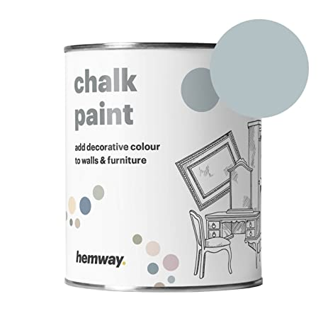 61gkZ2%2BE8xL._SY463_ hemway chalk paint (duck egg blue) matte finish wall and furniture