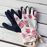 バラのガーデングローブ ショート丈 Mサイズ (ガーデニング手袋)