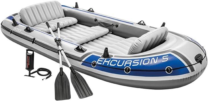 Amazon.com: Set de barco inflable de Intex para excursiones ...