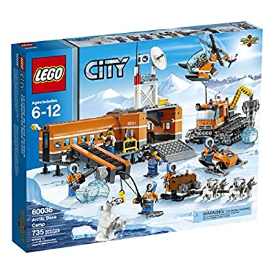 LEGO City Arctic Base Camp 60036 Building Toy (Discontinued by manufacturer)