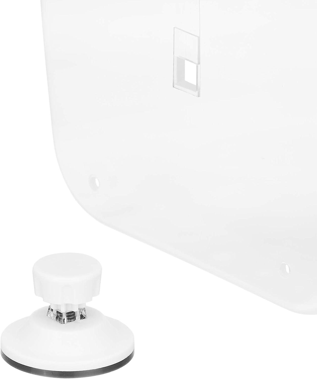 Basics Estanter/ía de ducha tipo cestillo con ventosas extrafuertes
