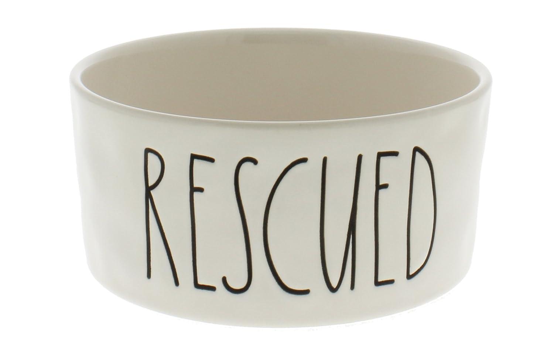 Rae Dunn by Magenta Rescued LL Dog Bowl
