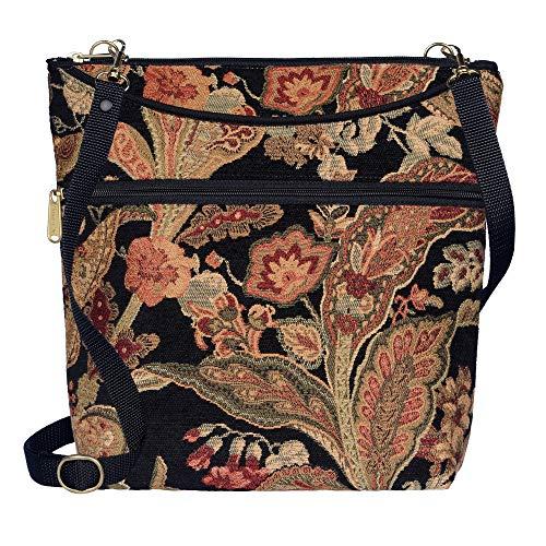 Danny K Women's Tapestry Bag Crossbody Handbag, Maggie Purse Handmade in the USA (Huntington) (Tote Purse Tapestry Bag)