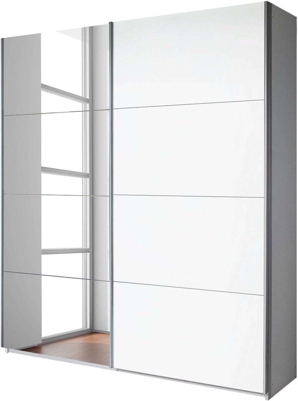 Wardrobe 2 door 210 CM height in various colours