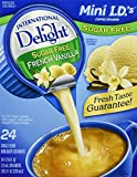 International Delight, Sugar Free, French Vanilla Non Dairy Creamer, 24 Count Creamer Singles (Pack of 3)