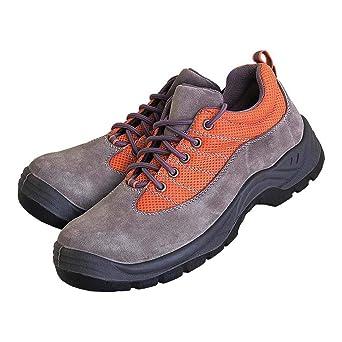 Reis BRXREIS_SP47 - Calzado de seguridad (talla 47), color gris y naranja: Amazon.es: Industria, empresas y ciencia