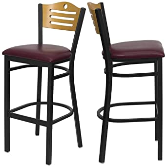 Marvelous Amazon Com Modern Style Metal Dining Bar Stools Pub Lounge Dailytribune Chair Design For Home Dailytribuneorg