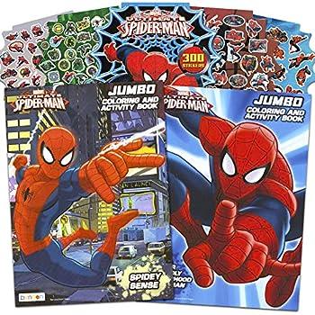 Amazon.com: Marvel Spiderman Coloring Book Bundle with ...