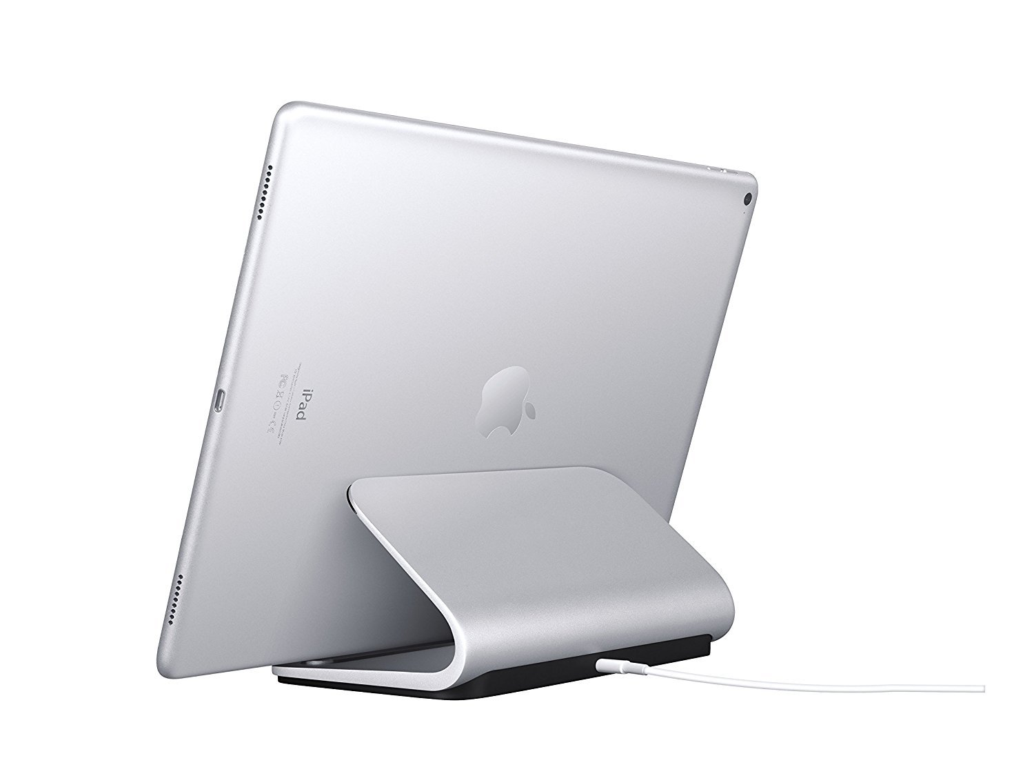 Logitech Base Charging Stand - For Pad Pro 9.7-inch,10.5-inch, 12.9-inch (1st and 2nd gen) - Premium Aluminum Construction - Smart Connector Technology by Logitech