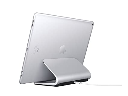 """047efd01630 Logitech Base Charging Stand - For 12"""" and 9.7"""" iPad Pro -  Premium Aluminum"""