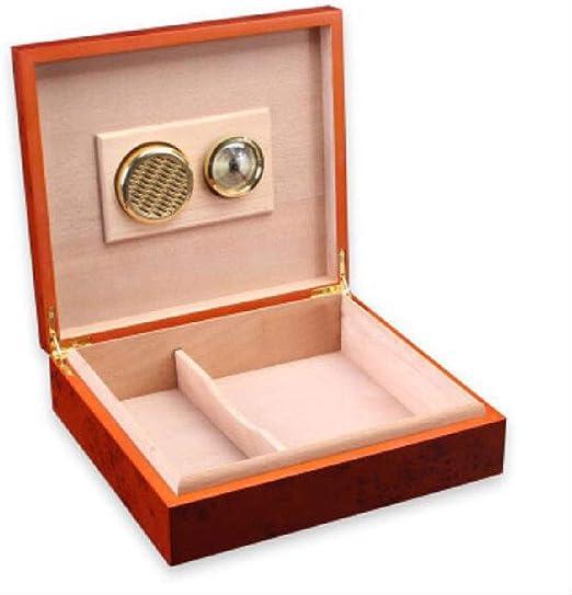HYZXJHE Caja de Puros, humidor de cigarros Mini Caja de cigarros ...