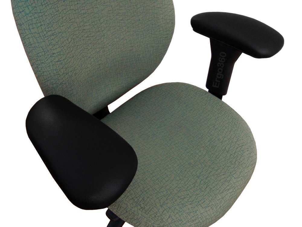 Ergo360 Kahuna Large Office Chair Arm Pads (2 Piece Set)