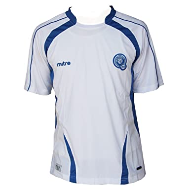 f78237594 Image Unavailable. Image not available for. Color: Mitre Men's El Salvador  Away Soccer Jersey