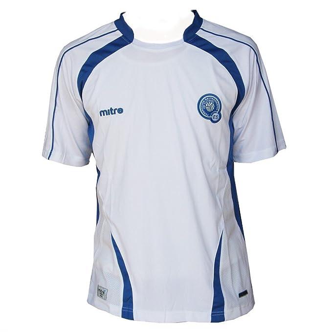 Amazon.com: mitre Mens El Salvador Away Soccer Jersey (S ...