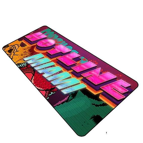 LIXB Hotline Miami padmouse Gaming Mousepad Game Halloween Regalo ...