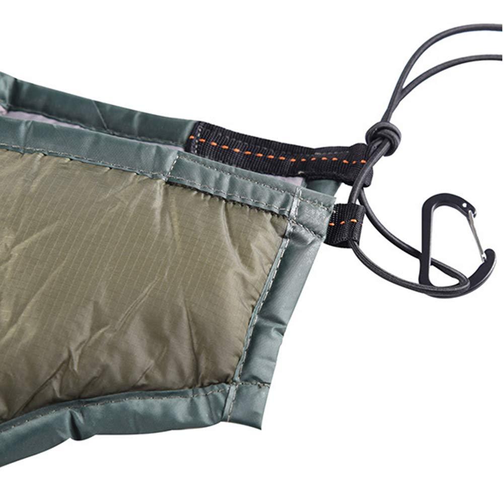 Thickened Windproof Warm Quilt Cotton Travel Hammocks Mat for Backpacking Hiking Garden Backyard Outdoor Sleeping Gear Winnerruby Winter Camping Hammock