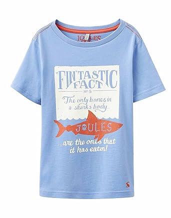 on sale db647 dab44 Tom Joule Boys' Animal Print T-Shirt Blue Light blue: Amazon ...