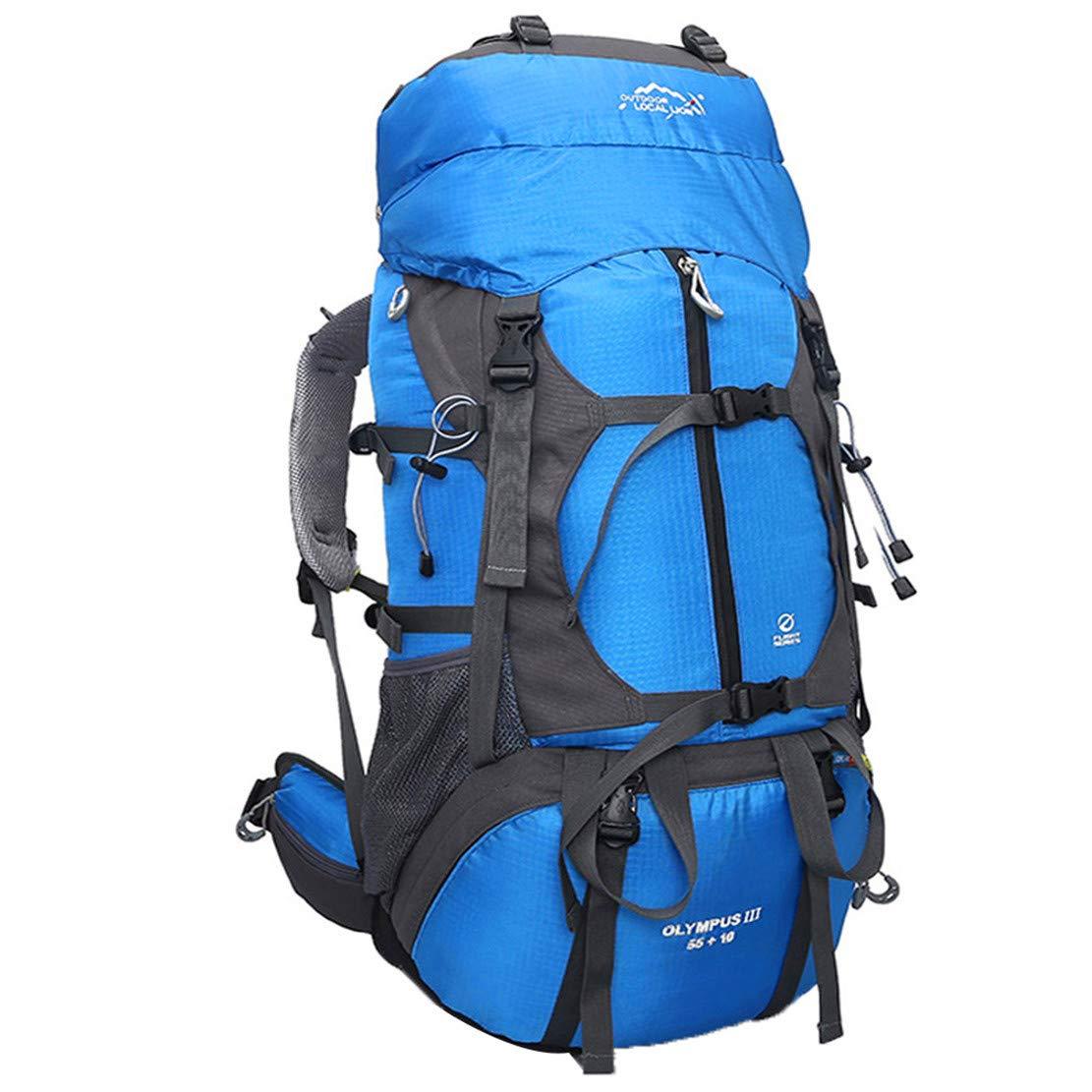 3a898d5254 Jasbo Zaino Sport Trekking Campeggio Montagna Zaini Zaini Zaini Outdoor 66L  Impermeabile Arrampicata Backpack Escursionismo Portatile Alpinismo Grande  Uomo ...