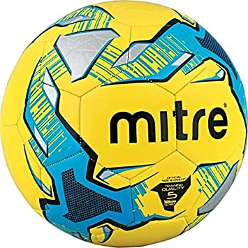 Mitre Impel - Balón de fútbol, color amarillo, talla 3: Amazon.es ...