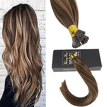 Amazon.com    Hot Sale Sunny Brazilian I Tip Hair Extensions Human Hair 3793927bd