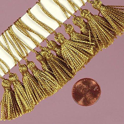 Premium Gold Tassels - -Pack of 24 High quality 2-7/8