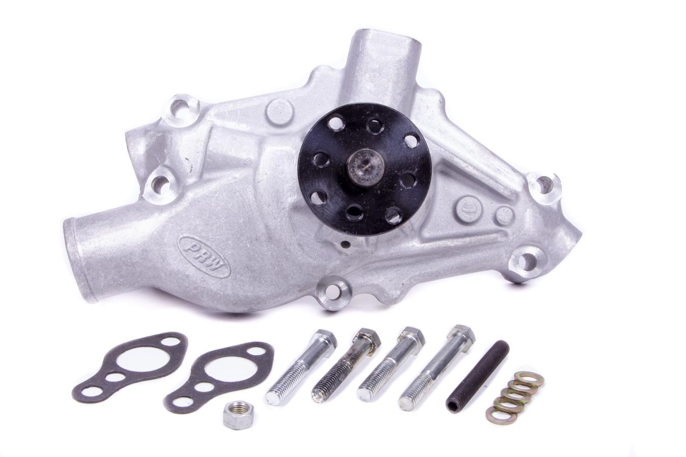 PRW 1435002 Performance Quotient 3//4 Pilot shaft Competition Plus Revised Impeller Entry Aluminum Water Pump for Chevy SB 1955-95