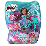Winx Club - Butterflix Fairy - Layla Aisha Doll 28cm with Magic Robe by Witty Toys