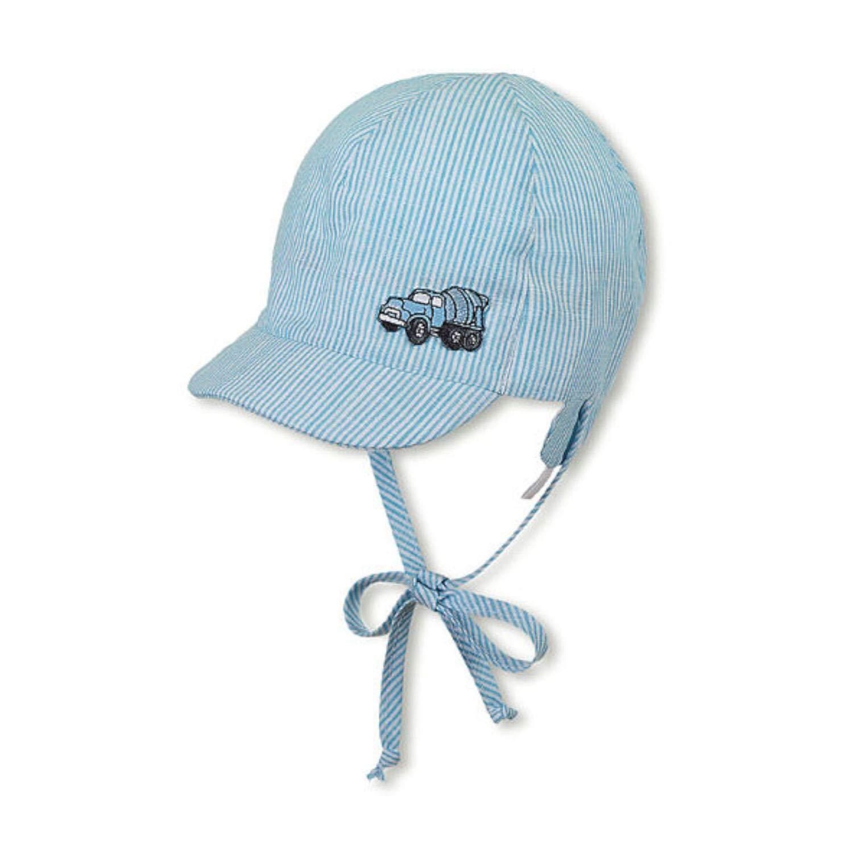 Sommerm/ütze zum Binden UV-Schutz 15 Sterntaler hellblau Jungen Baby Schirmm/ütze 1601920