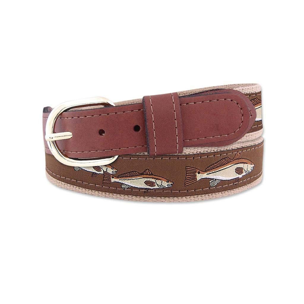 ZEP-PRO Buff Redfish Ribbon Belt-Brown-36