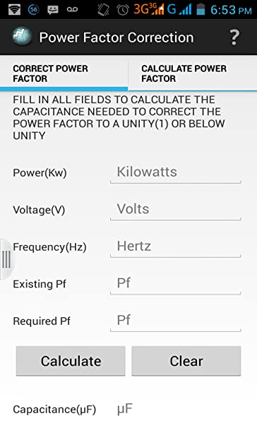 Amazon Com Power Factor Correction Appstore For Android