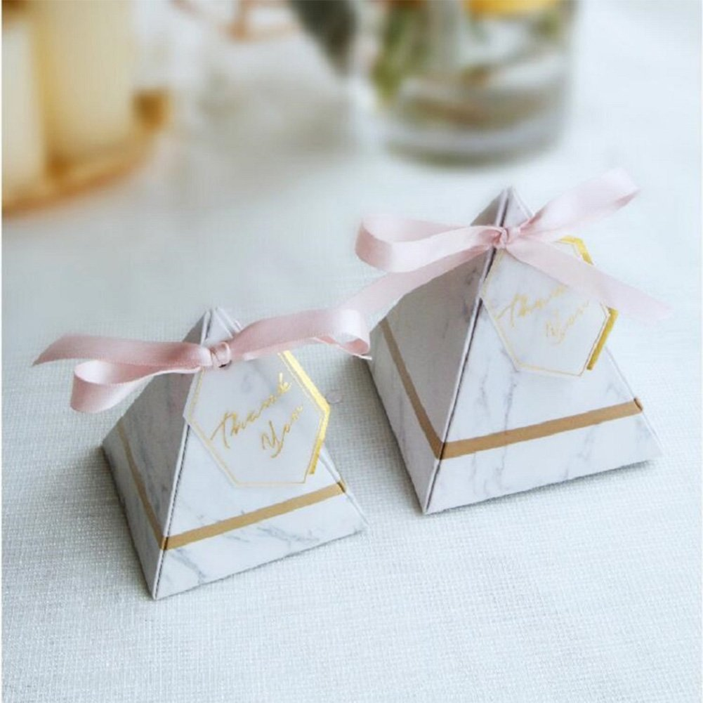 customers first Candy Boxes, Triangular Boxes Wedding
