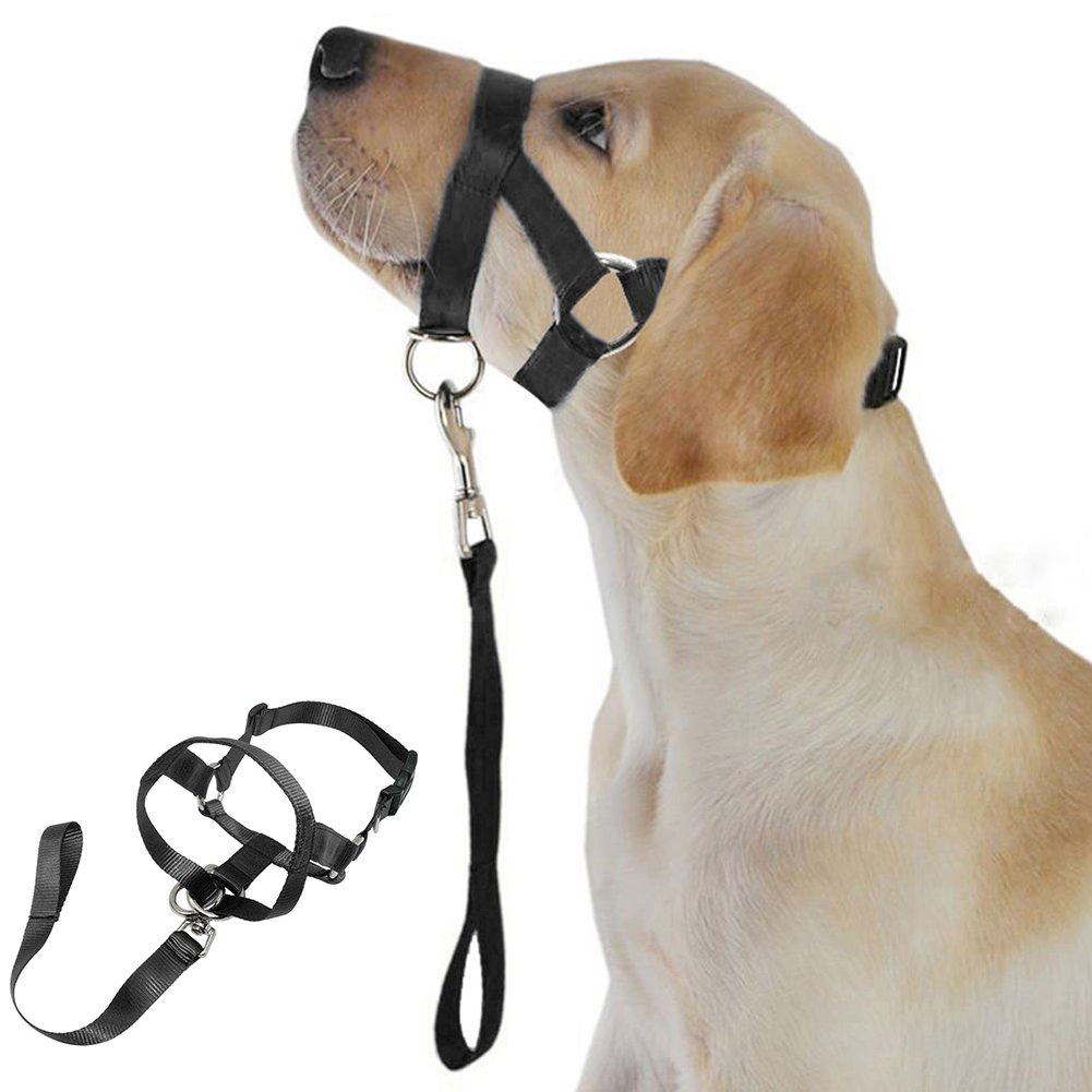 alkyoneus Soft Nylon Hund Pet Head Halsband Training Mund Käfig Anti Bite Kauen Sicherheit Maske Sicherheitsmaske ALCYONEUS