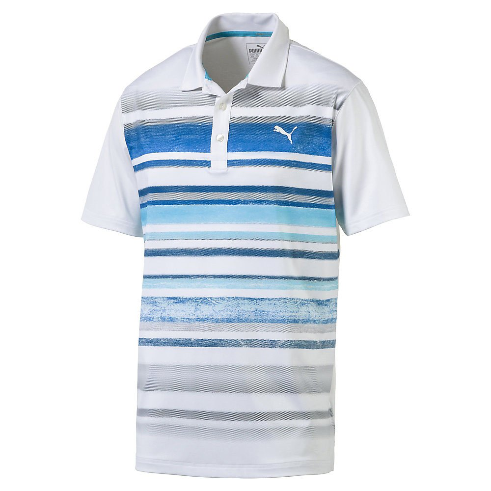 Puma Golf 2017 Hombre Washed Polo de Rayas: Amazon.es: Ropa y ...