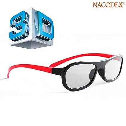 08f87e1935d 100% Original Xiaomi® Polarized 3d Glasses Black Movie DVD LCD Video Game  Theatre Circular