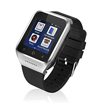 Zgpax S8 Smartwatch Movil 3g Libre (Android 4.4,Dual Core ...