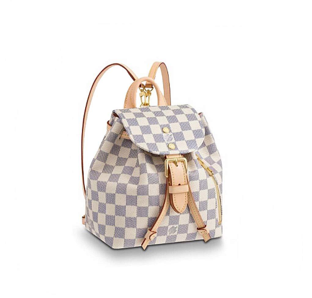 HPASS Sperone Shoulder Bag Rucksack Soft Leather Backpack