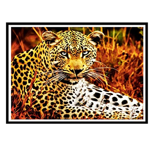 Botrong 5D Embroidery Paintings Rhinestone Pasted DIY Diamond Painting Cross Stitch - Half Drill ( 12X10inch /30X25CM)