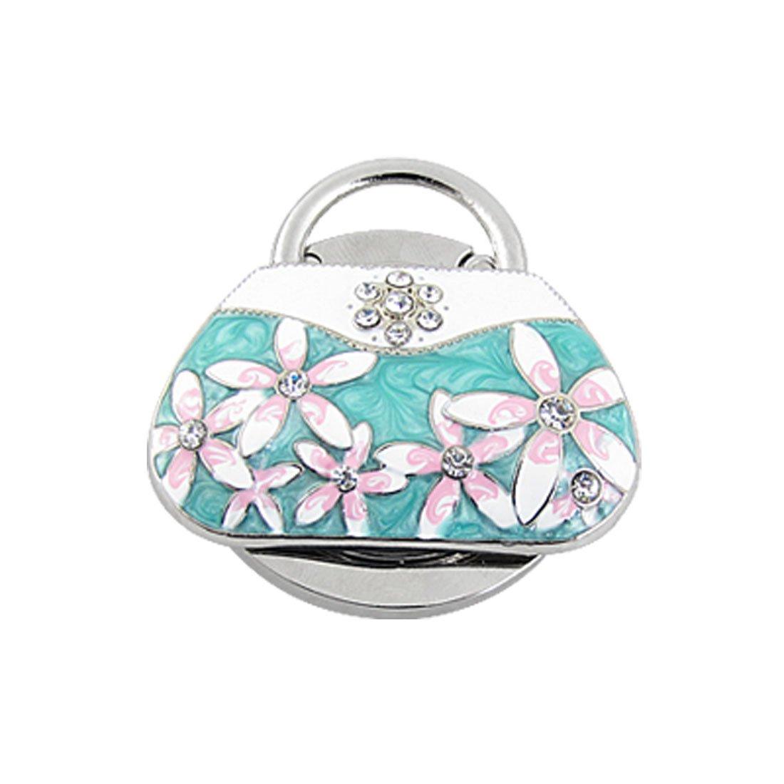 Sourcingmap Portable Handbag Hanger, Greens a11010500ux0337