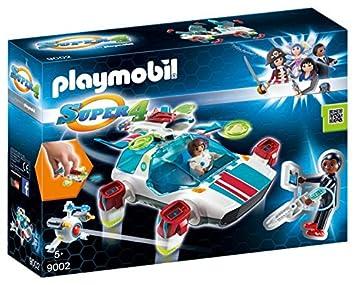 Playmobil - FulguriX con Agente Gene, Personajes de la Serie Super ...