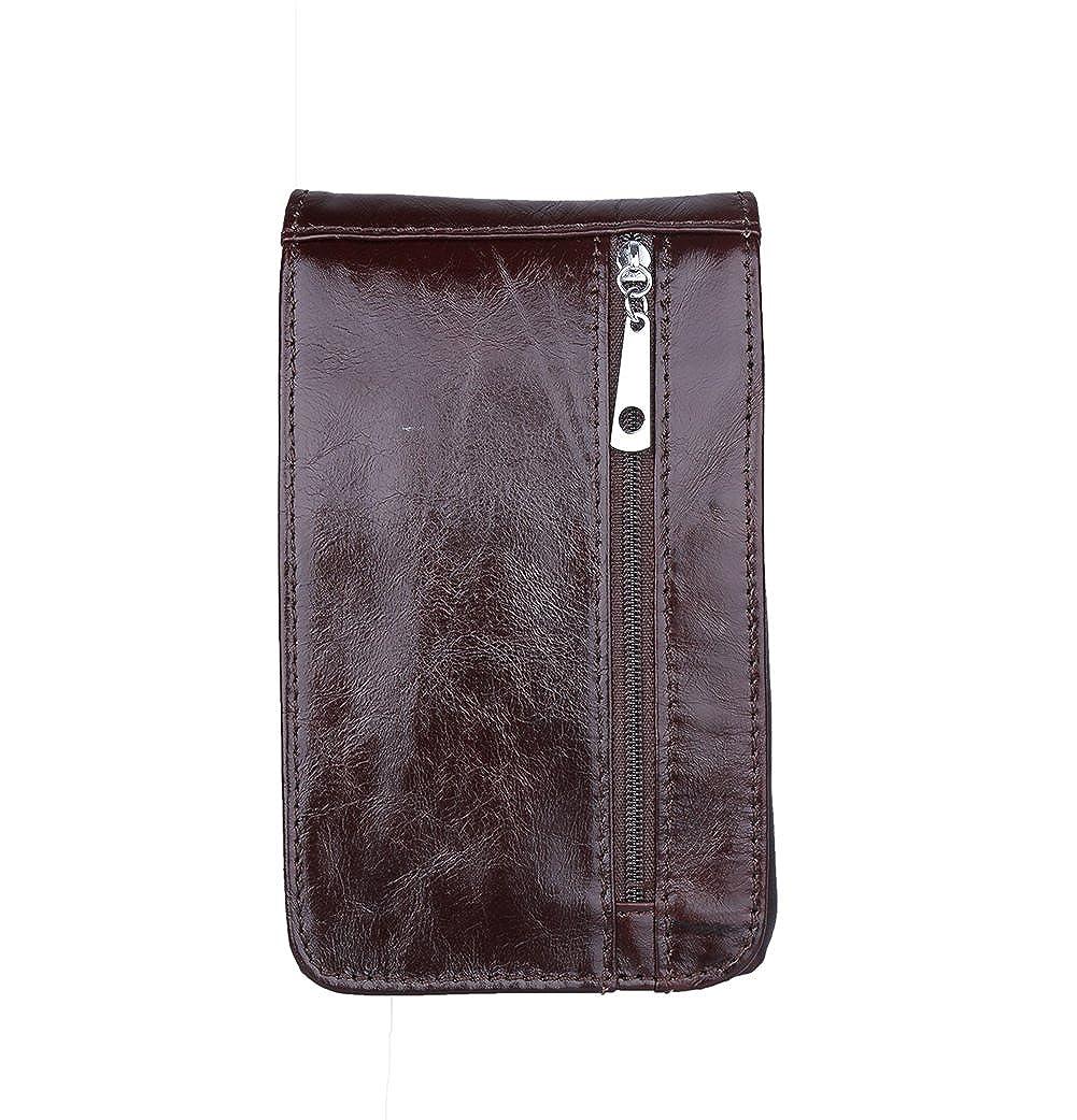 Genda 2Archer Mini Leather Cellphone Pouch Flapover Belt Bumbag