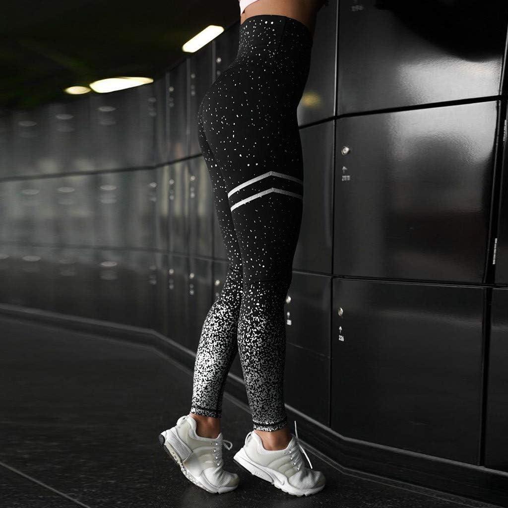 Ropa Fitness Mujer Gym ZARLLE Leggins Mujer Fitness Push up Cintura Alta Redondo Punto de Ola Pantalones Running Levantamiento de Cadera Pantalon Yoga Mujer Crossfit Mujer
