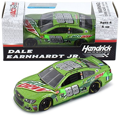 Lionel Racing Dale Earnhardt Jr 2017 Mtn Dew Final Talladega Cup Series Raced Version NASCAR Diecast 1:64 Scale