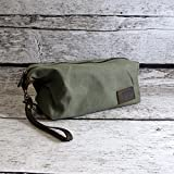 Personalized Mens Dopp Kit Travel Bag