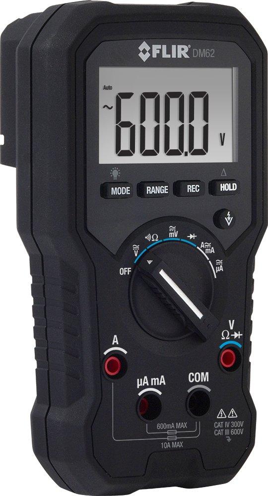 Flir dm62 con detección de voltaje de berührungsloser y TRMS - Multímetro digital (Medición de valor echteffektiv): Amazon.es: Bricolaje y herramientas