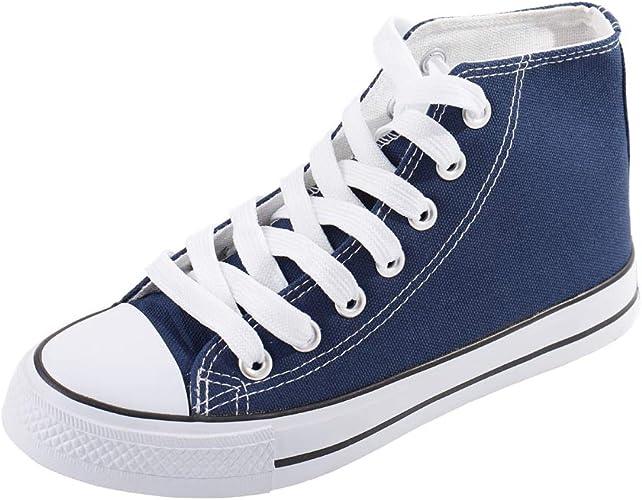 Amazon.com | Magone Womens High Top Classic Canvas Fashion Sneaker | Fashion Sneakers
