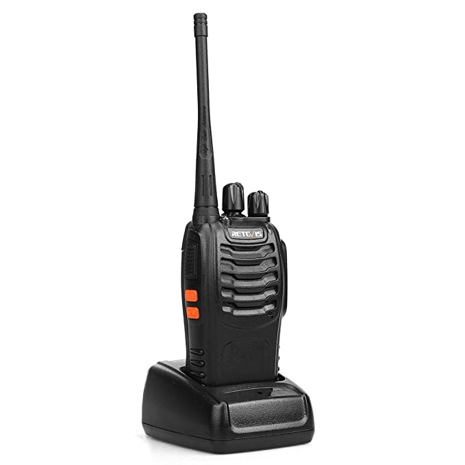 Retevis H-777 Walkie Talkie UHF 16CH CTCSS/DCS Flashlight Scan 2 Way Radio(1 Pack)