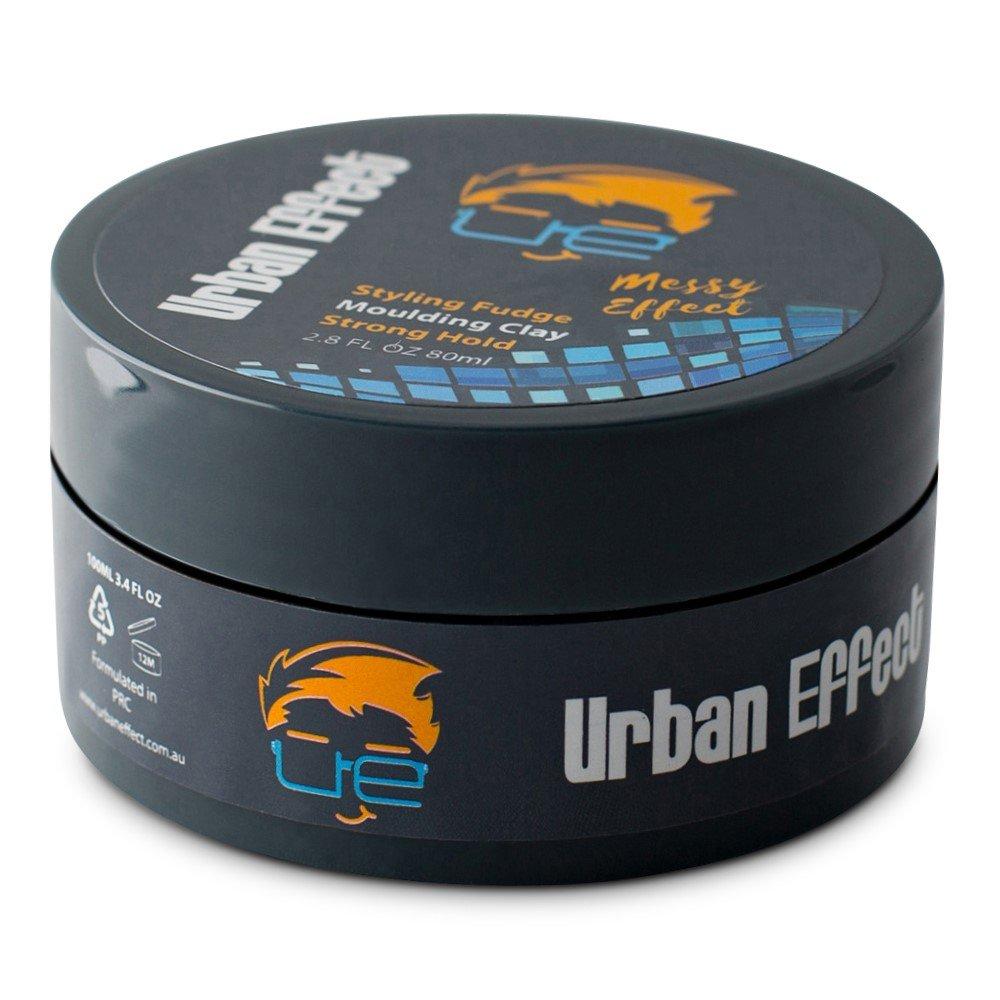 Urban Effect Messy Effect Hair Styling Clay, Styling Fudge, Molding Clay, Hair Wax, Hair Gel (3.4 oz) ON SALE NOW