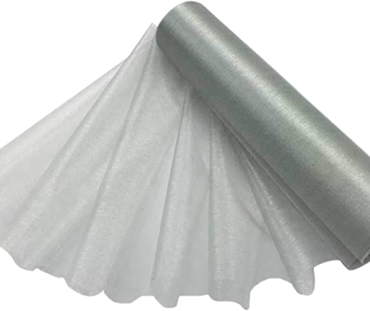 Ivory 25M Organza Draping Fabric Roll