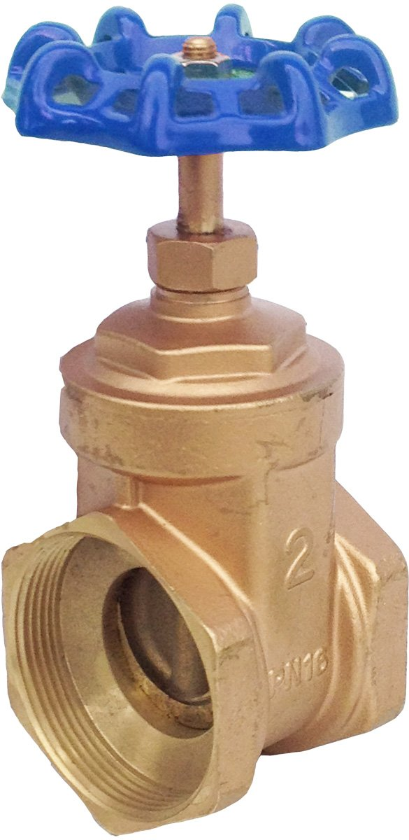 IrrigationKing RKEV2 2'' Brass Gate Valve Reduced Bore by IrrigationKing (Image #1)